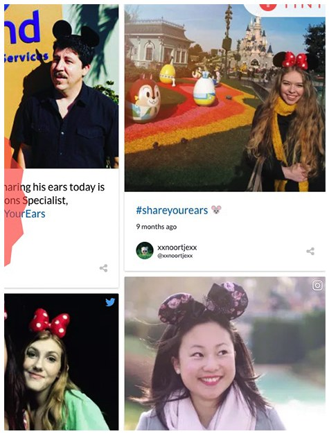 Disney, campagna #shareyourears