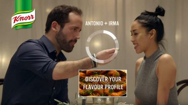 Campagna social media marketing Knorr - Love at first taste