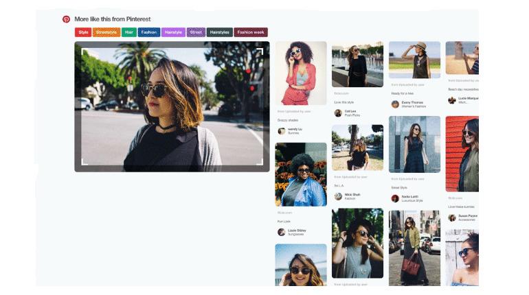 829089fe0352 Pulsante del browser di Pinterest  adesso sarà possibile fare una ricerca  per immagini