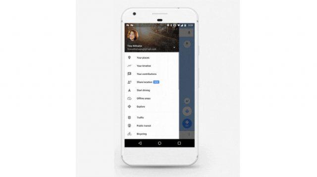 Come funziona la nuova opzione di condivisione della posizione su Google Maps?