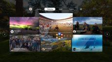 Facebook introduce una nuova app per la fruizione di video a 360 gradi per Samsung Gear VR