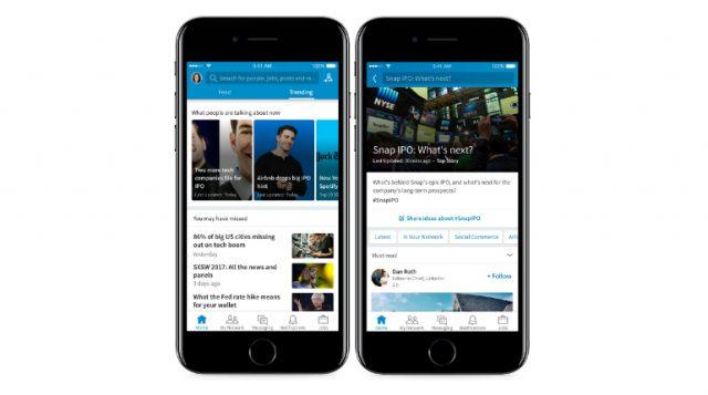 LinkedIn introduce Trending Stoylines per essere sempre aggiornati sulle ultime notizie e tendenze