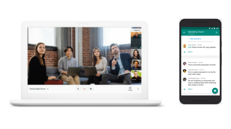 Google presenta il nuovo Hangouts