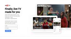 YouTube lancia YouTube TV per guardare sport, serie TV e i programmi dei principali network americani
