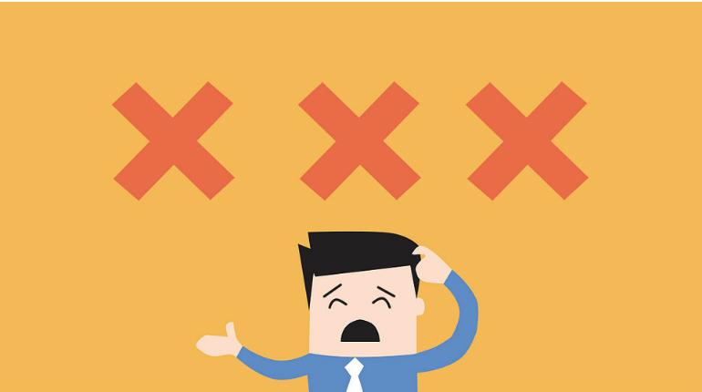 Gli errori più comuni compiuti dalle aziende nella gestione della customer experience
