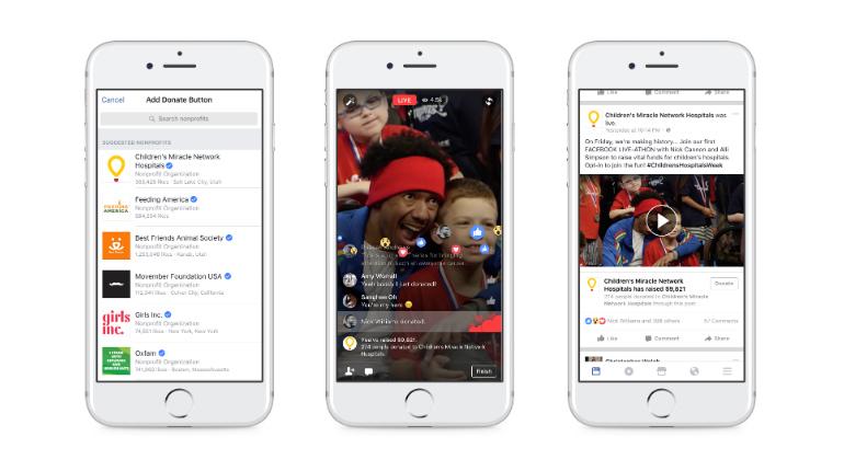 Facebook lancia nuovi strumenti per la raccolta di fondi all'interno della piattaforma