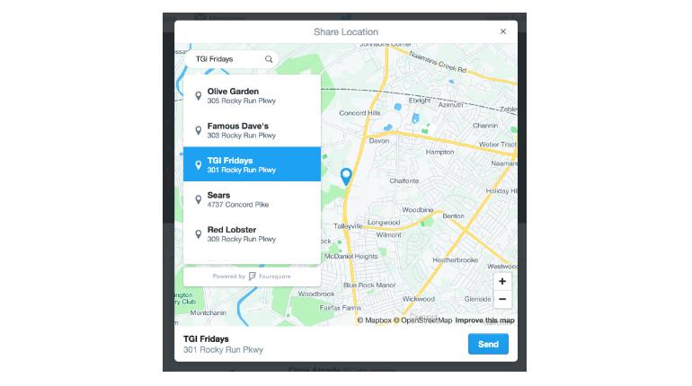 Twitter consentirà alle aziende e agli utenti di condividere la propria posizione