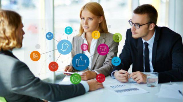 Colloquio di lavoro nel digital marketing