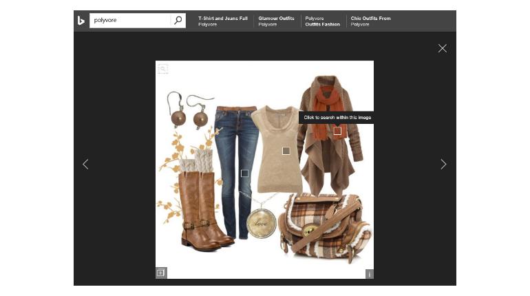 Le ultime novità sulla ricerca per immagini di Bing