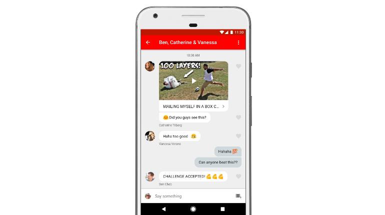 YouTube introduce una nuova opportunità per condividere i video senza uscire dall'app