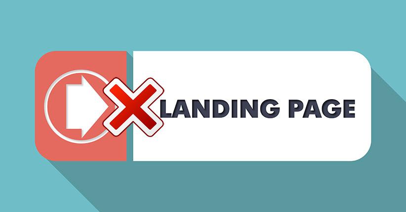 Errori di una landing page che non converte