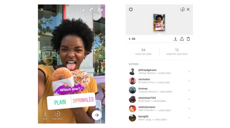 Instagram introduce i sondaggi nelle Storie e si prepara all'integrazione con Shopify