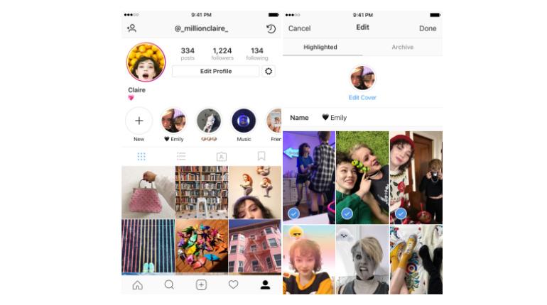 L'ultimo aggiornamento di Instagram riguarda le Storie: in arrivo Highlights e archivio dedicato