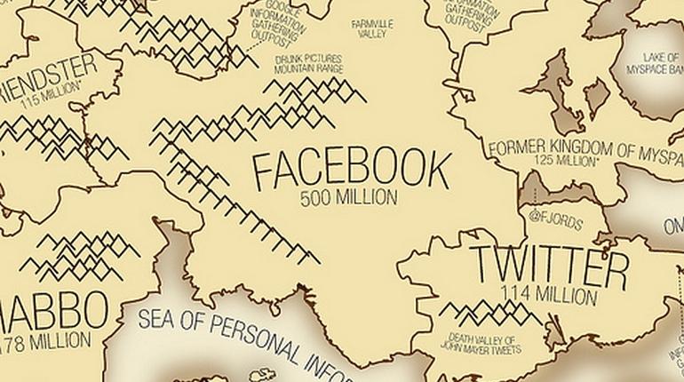 I social network nel mondo: la mappa stilata dall'analista Vincenzo Cosenza