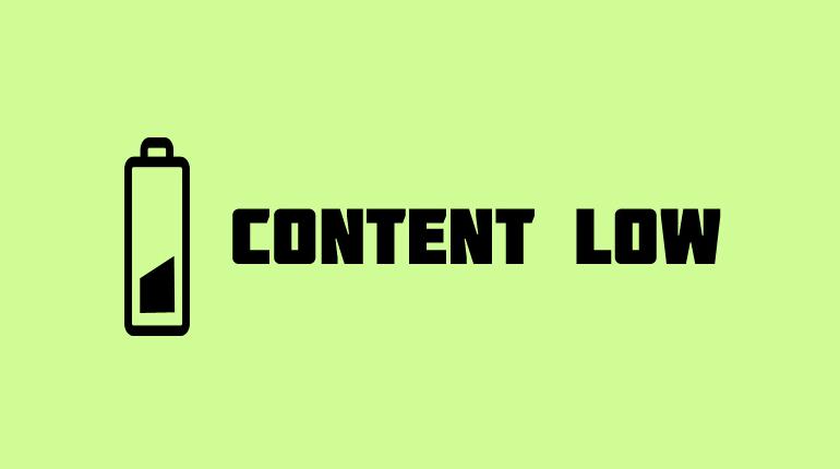 Errori di content marketing: perché un contenuto non funziona?