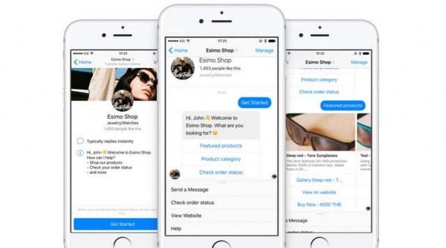 Chatbot in Facebook Messenger per il social media marketing