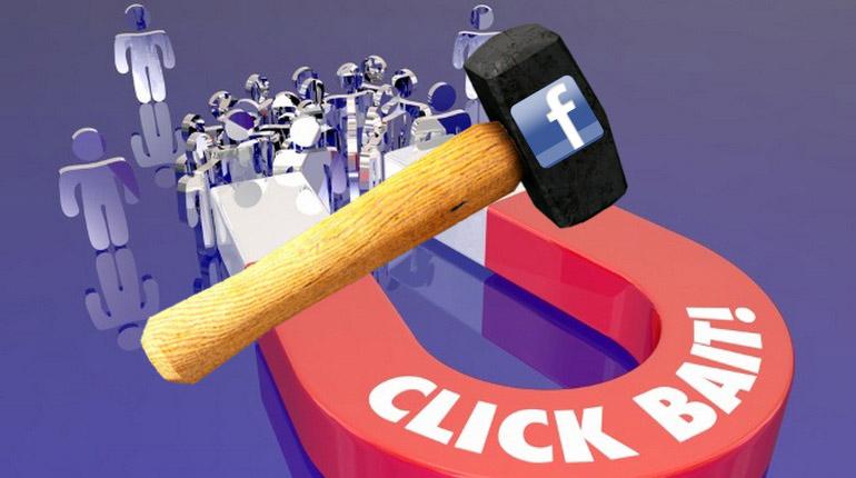 L'algoritmo di Facebook contro il clickbait