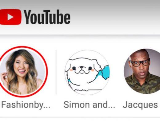 Storie di YouTube disponibili per tutti