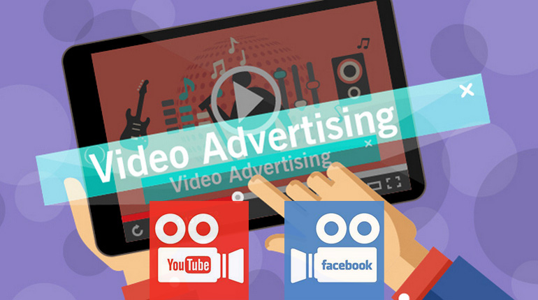 Caratteristiche video advertising in Facebook e YouTube a confronto