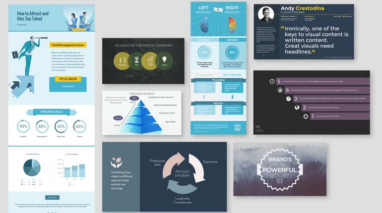 Creare infografiche, presentazioni e white paper con Visme
