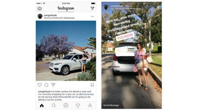 Instagram lancia le inserzioni con contenuti brandizzati