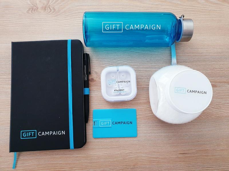 Articoli promozionali di Active Campaign per la brand image