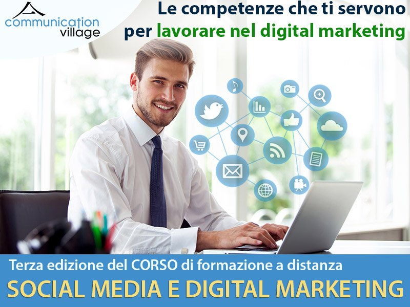 Corso Social Media e Digital Marketing di Communication Village