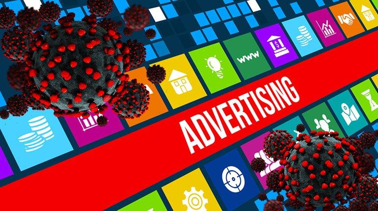 Effetti del coronavirus sull'advertising