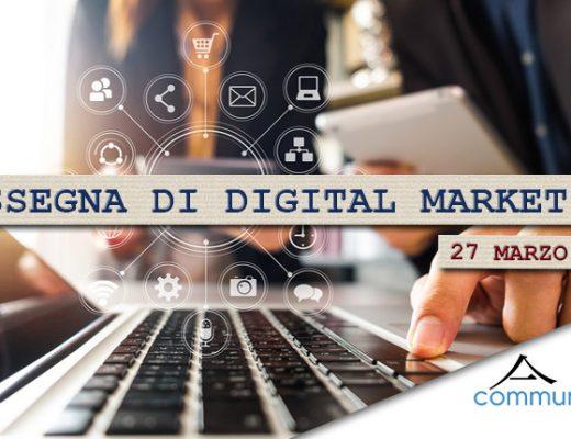 Rassegna di digital marketing 27 marzo 2020