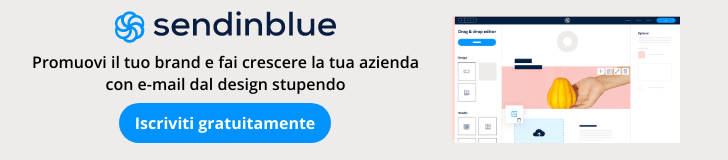 Email marketing di Sendinblue