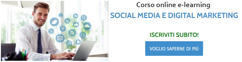 Corso online Social Media e Digital Marketing di Communication Village