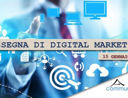 Rassegna di Digital Marketing del 15 gennaio 2021 di Communication Village
