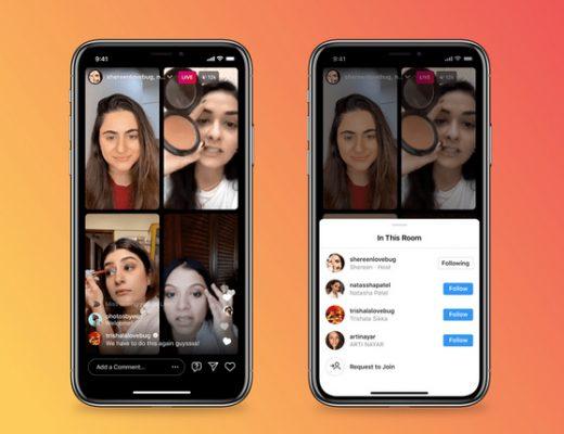 Instagram Live Rooms per il marketing