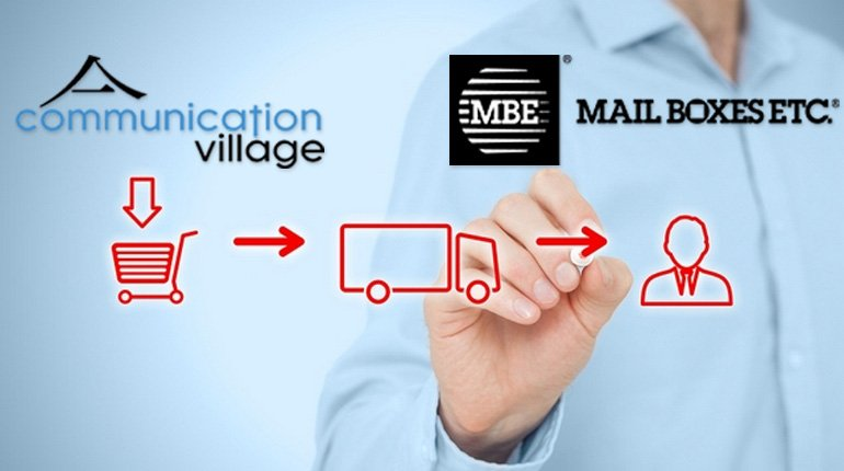 Communication Village e Mail Boxes Etc insieme per l'e-commerce
